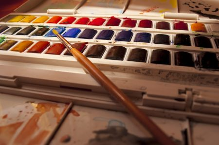 my Watercolor kit by Steven Correy @Flickr