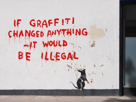 Graffiti by Banksy @Banksy