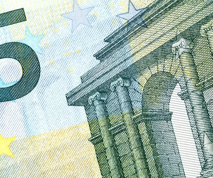 Five euro note close-up by  @Unsplash.com